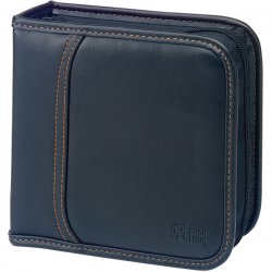 Case Logic - KSW-32 BLACK - Case Logic 32 Capacity CD Wallet - Koskin - Black - 32 CD/DVD