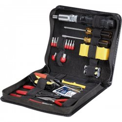 Fellowes - 49097 - Fellowes Premium Computer Tool Kit - 30 Piece - TAA Compliant - Black