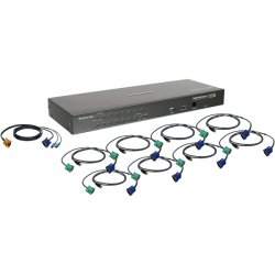 IOGear - GCS1644 - IOGEAR GCS1644 DVI KVM Switch - 4 x 1 - 8 x DVI-I Video, 4 x Type B Keyboard/Mouse