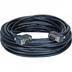 QVS - CC388M1-100 - QVS Video Cable - 100 ft - 1 x HD-15 Male VGA - 1 x HD-15 Male VGA - Shielding