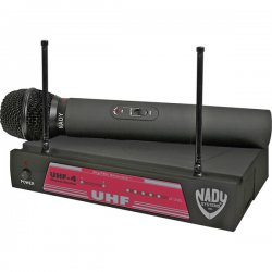 Nady System - 6014-02 - Nady UHF-4 Channel 11 DigiTRU Diversity Wireless Microphone System - 30 Hz to 18 kHz Frequency Response
