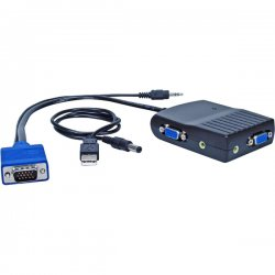 QVS - MSV12MA - QVS MSV12MA Video Splitter - 2048 x 1536 - QXGA - 1 x 2