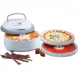 Nesco - FD75PR - Nesco Fd75pr Food Dehydrator 600w 5trays And Spices