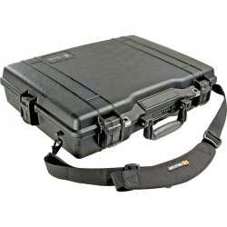 "Pelican - 1495-000-110 - Pelican 17"" Notebook Case - Stainless Steel - Black"