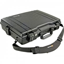 "Pelican - 1495-000-190 - Pelican 1495 Carrying Case for 17"" Notebook - Desert Tan - Crush Proof, Dust Proof, Water Proof - Stainless Steel, Polypropylene Body, Acrylonitrile Butadiene Styrene (ABS) Latch, Polymer O-ring - Shoulder Strap, Handle - 17.3"""
