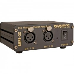 Nady System - SMPS-2X - Nady 2-Channel 48V Phantom Power Supply - 18 V AC Input Voltage - External