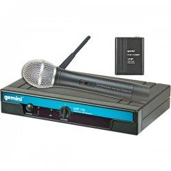 Gemini DJ - UHF-116HL - Geminidj UHF-116HL Wireless Microphone System - 682 MHz to 698 MHz System Frequency