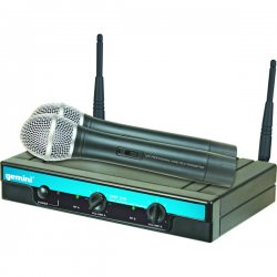 Gemini DJ - UHF-216HL - Gemini Dual Headset/Lav Wireless System