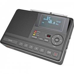 Sangean - CL-100 - Sangean CL-100 Portable Clock Radio - Stereo - 2 x Alarm - FM, AM