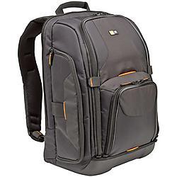 Case Logic - SLRC-206 BLACK - Case Logic SLR Camera/Notebook Backpack - 17 x 12.5 x 8 - Nylon - Black