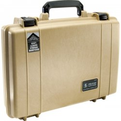"Pelican - 1470-000-110 - Pelican 1470 Carrying Case for Gun - Black - 16.7"" Height x 13.1"" Width x 4.4"" Depth"