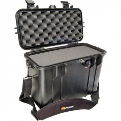 Pelican - 1430-000-110 - Pelican PELICAN 1430 TOP LOADER CASE BLACK - Double Throw Latch, Padlock Closure - Polycarbonate, Stainless Steel - Black