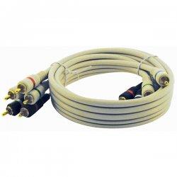 Steren Electronics - BL-216-512IV - Steren BL-216-512IV Premium Component Video Cable - Component