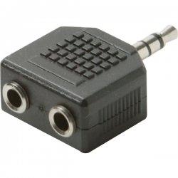 Steren Electronics - BL-265-454BK - Steren BL-265-454BK Premium Stereo Headphone Splitter