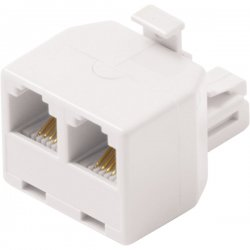 Steren Electronics - BL-320-024WH - Steren BL-320-024WH Telephone Adapter - White