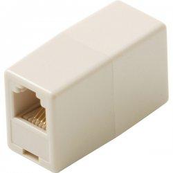 Steren Electronics - BL-320-034IV - Steren BL-320-034IV Telephone Coupler Adapter - RJ-11 Phone - Ivory