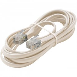 Steren Electronics - BL-324-007IV - Steren BL-324-007IV Premium Telephone Line Cable - for Phone - 7 ft - Ivory