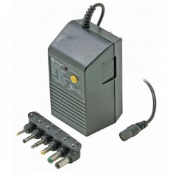 Steren Electronics - CL-900-110 - Steren CL-900-110 AC Adapter - 110 V AC Input Voltage - 1 A Output Current