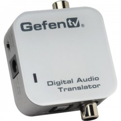 Gefen - GTV-DIGAUDT-141 - Converts coaxial and optical digital audio formats