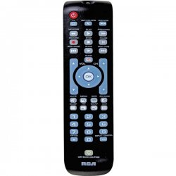 RCA - RCRN03BR - Three-Device Universal Remote, Black