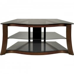 Bello - PVS3103 - 47 Wide Metal AV Stand Dark Cherry