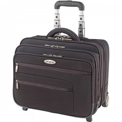 "Samsonite - 934445 - 16"" Black Wheeled Computer Case/Overnighter"