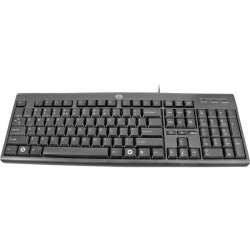 Gear Head - KB2500U - Gear Head KB2500U Windows Keyboard - Cable Connectivity - USB Interface - 107 Key