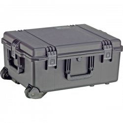 "Pelican - IM2720-00002 - Pelican Storm iM2720 Shipping Box with Padded Divider - Internal Dimensions: 17"" Width x 10"" Depth x 22"" Height - External Dimensions: 19.7"" Width x 11.7"" Depth x 24.6"" Height - Latching Closure - Resin - Black - For Multipurpose"