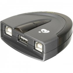 IOGear - GUB231 - IOGEAR GUB231 2-Port USB 2.0 Automatic Printer Switch - 3 x USB
