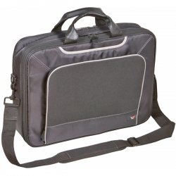 "V7 - CTE1-9N - V7 E-Lite CTE1-9N Carrying Case for 16"" Notebook - Black, Gray - Checkpoint Friendly - 13"" Height x 16.6"" Width x 4.5"" Depth"