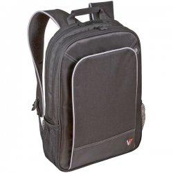 """V7 - CBP2-9N - V7 Professional CBP2-9N Carrying Case (Backpack) for 17"""" Notebook - Black - Nylon - Handle, Shoulder Strap - 13"""" Height x 19.5"""" Width x 6"""" Depth"""