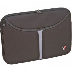 "V7 - CSP1-9N - V7 Professional CSP1-9N Carrying Case (Sleeve) for 16"" Notebook - Black - Neopro - 11"" Height x 15.8"" Width x 0.8"" Depth"