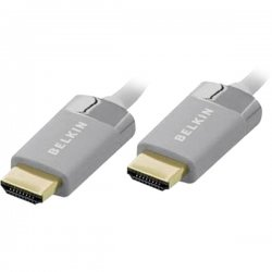 Belkin / Linksys - AV22306-06 - Belkin HDMI Cable - HDMI Digital Audio/Video - HDMI Digital Audio/Video - 6ft - White