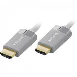 Belkin / Linksys - AV22306-12 - Belkin HDMI Cable - HDMI Digital Audio/Video - HDMI Digital Audio/Video - 12ft - White