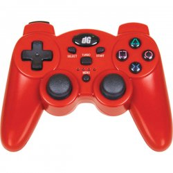 dreamGEAR / iSound - DGPS3-1392 - dreamGEAR DGPS3-1392 Radium Gaming Pad - Wireless - PlayStation 3 - Force Feedback - Metallic Red