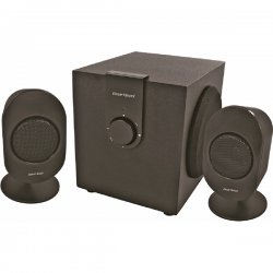 Gear Head - SP3500ACB - Gear Head SP3500ACB 2.1 Speaker System - 12 W RMS - 30 Hz - 20 kHz