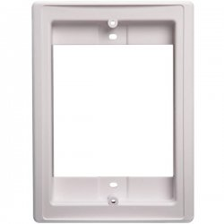 Broan-NuTone - NF300DWH - NuTone NF300DWH Door Speaker Retrofit Faceplate - White
