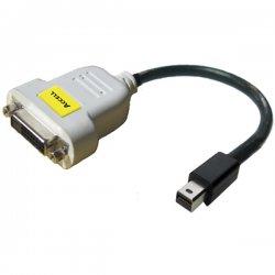 """Accell - B087B-004B - Accell UltraAV B087B-004B Video Cable Adapter - 10"""" - DVI-D Female Digital Video - Mini DisplayPort Male Digital Audio/Video"""