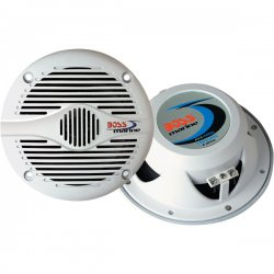 "Boss Audio Systems - MR50W - BOSS AUDIO MR50W Marine 5.25"" 2-way 150-watt Full Range Speakers - Sold in Pairs"