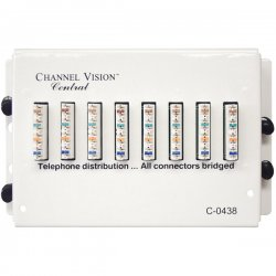Channel Vision - C-0478 - Channel Vision Economy 110 Punch Down Telephone Distribution Module - C-0478