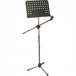 "Pyle / Pyle-Pro - PMSM9 - Pyle PMSM9 Heavy Duty Tripod Microphone And Music Note Stand - 65"" Height x 14"" Width - Steel"
