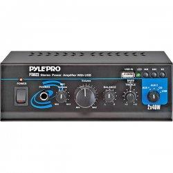 Pyle / Pyle-Pro - PTAU23 - Pyle PTAU23 Amplifier - 40 W RMS - 10% THD - USB