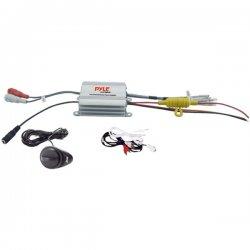 Pyle / Pyle-Pro - PLMRMP1A - Pyle PLMRMP1A Marine Amplifier - 600 W PMPO - 2 Channel - 95 dB SNR - 0.1% THD - 10 Hz to 40 kHz - 2 x 100 W @ 4 Ohm - 2 x 300 W @ 2 Ohm