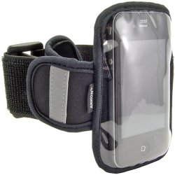 Arkon Resources - SM-ARMBAND - ARKON SM-ARMBAND Carrying Case (Armband) for iPod, iPhone - Scratch Resistant, Sweat Resistant - Neoprene, Plastic - Armband