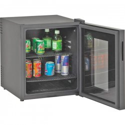 Avanti - SBCA017G-IS - Avanti Sbca017g Black 1.7cf Beverage Cooler Deluxe Glass Doo