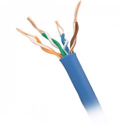 Steren Electronics - 300-789BL - Steren 300-789BL UTP Cat.6 Cable - Category 6 - 1000 ft - Bare Wire - Bare Wire - Blue