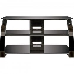 Bello - PVS4204HG - 42 Wide Metal AV Stand Gloss Black