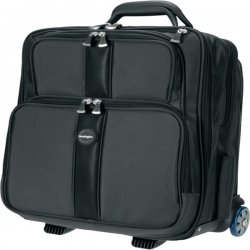 "Kensington - K62903 - Kensington Contour K62903 Carrying Case (Roller) for 17"" Notebook, Accessories, File Folder, Cellular Phone - Black - Abrasion Resistant, Puncture Resistant, Tear Resistant - Ballistic Nylon - Handle - 19.8"" Height x 16.3"" Width x"