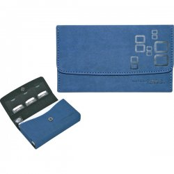 Mad Catz / Saitek - NOV257340N04/04/1 - Microsuede Wallet for Nintendo DS™-Blue