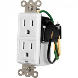 Panamax - MIW-SURGE-1G - 15A In-Wall Duplex, 2 Outlets, W/ Surge Protection